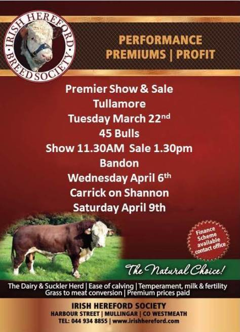 Tullamore S & S March 22nd