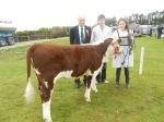 The Dudley's with their Reserve Champion