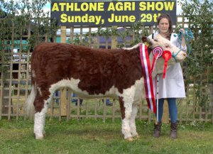 Champion Kilsunny Lass Kendal with Susan Dudley