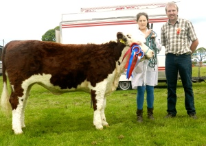 Reserve Champ: Kilsunny Lass Kendall with Susan Dudley