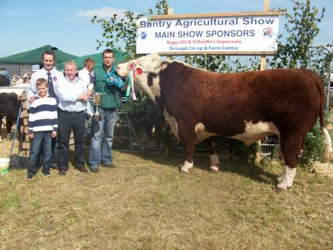 1.Balleen Plomber – Owner: Tom & Paddy Hickey