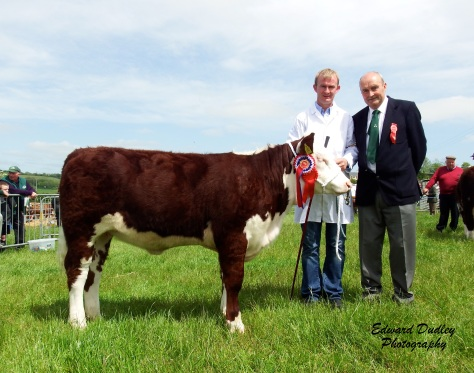 1st & Supreme Champion Banteer 1 Gem with Anthony McCarthy exhibitor and Pat Sheedy judge