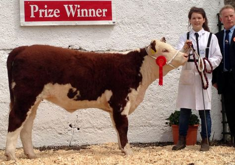 31st Prize winner Ardmulchan Clover 656 with owner Catherine Smyth