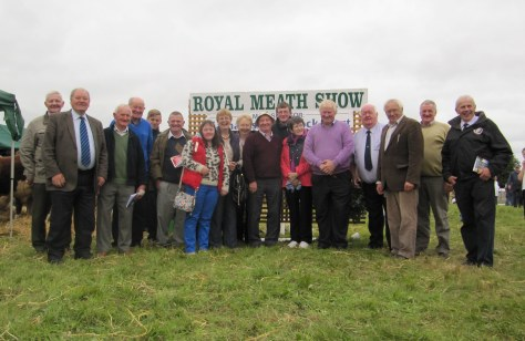Munster Tour group in joyous mood attending the Royal Meath show at Trim