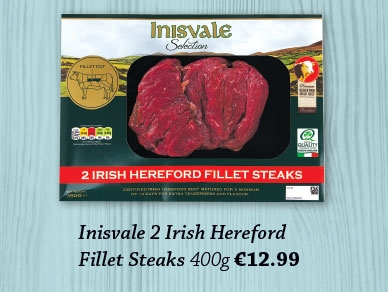 Award winning Hereford Fillet Steak