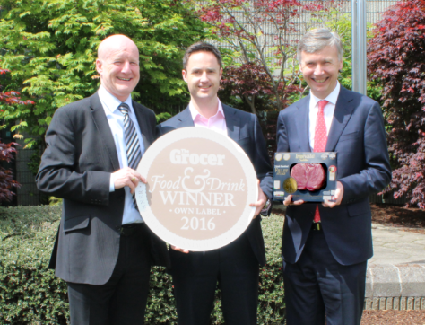 From Left to Right: Gerry Maguire – Managing Director Linden Foods, Liam Casey - Lidl Ireland Commercial Director & Rory Fanning – Managing Director Slaney Foods