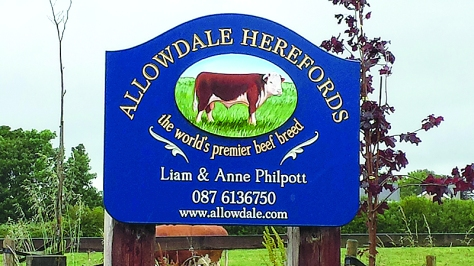 Allowdale sign