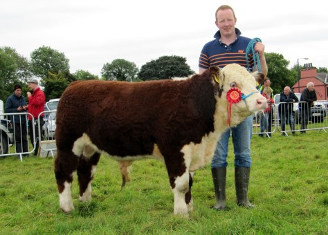 1st Prizewinner  Clondrina 1176th with owner Declan Donnelly