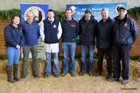 The Hardworking Organising Committee- Catherine Smyth, Michael Molloy, Hugh P Murray, Robert Jones, Edwin Jones, Joe O'Connor & Joe Deverell