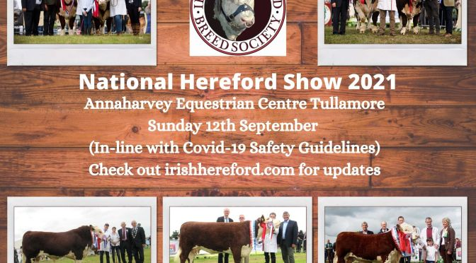 National Hereford Show 2021