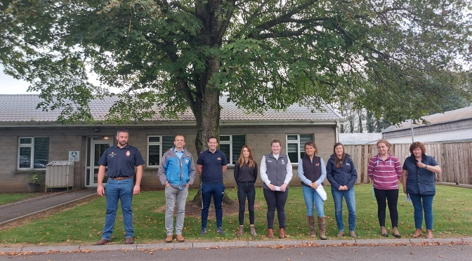 Next Gen Herefords visit the ICBF Tully Beef Centre